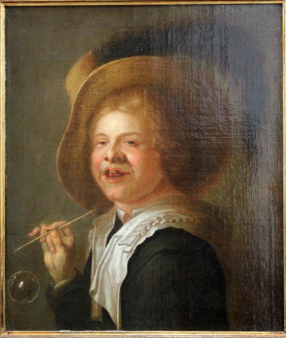 Early 18th Century Oil on Canvas Painting - 2