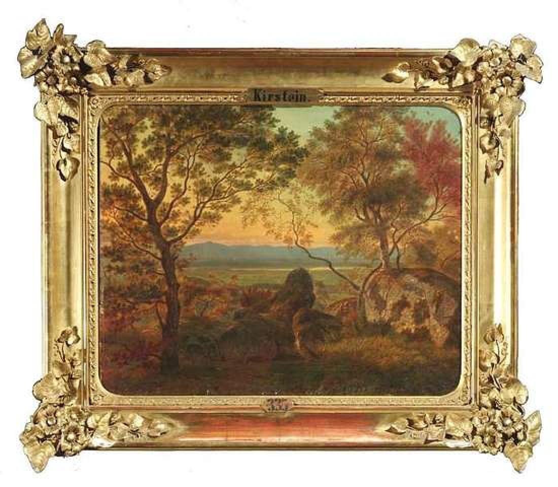 19 Century European Landscape Painting, Adolf Kirstein