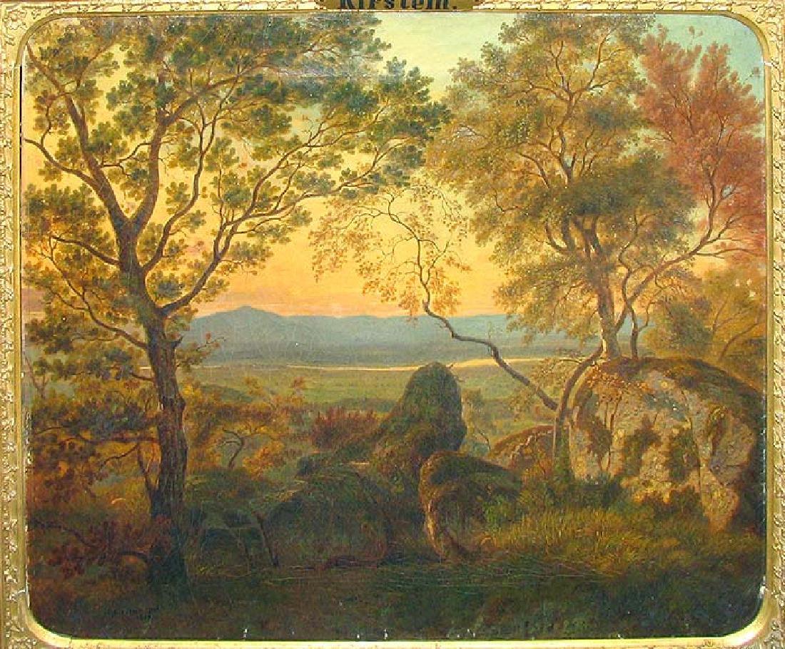 19 Century European Landscape Painting, Adolf Kirstein - 2