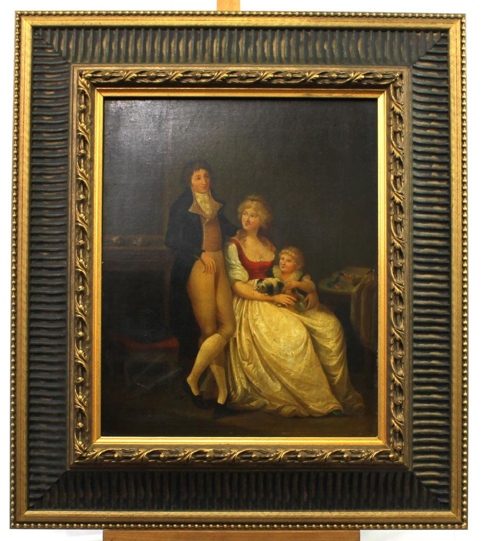 Attributed to Louis Leopold Boilly Pair of 18th Century - 2