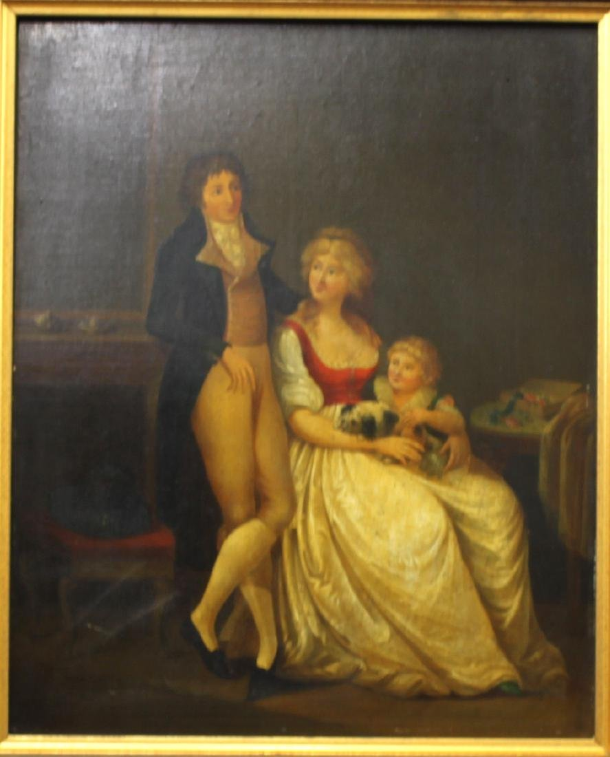 Attributed to Louis Leopold Boilly Pair of 18th Century - 3