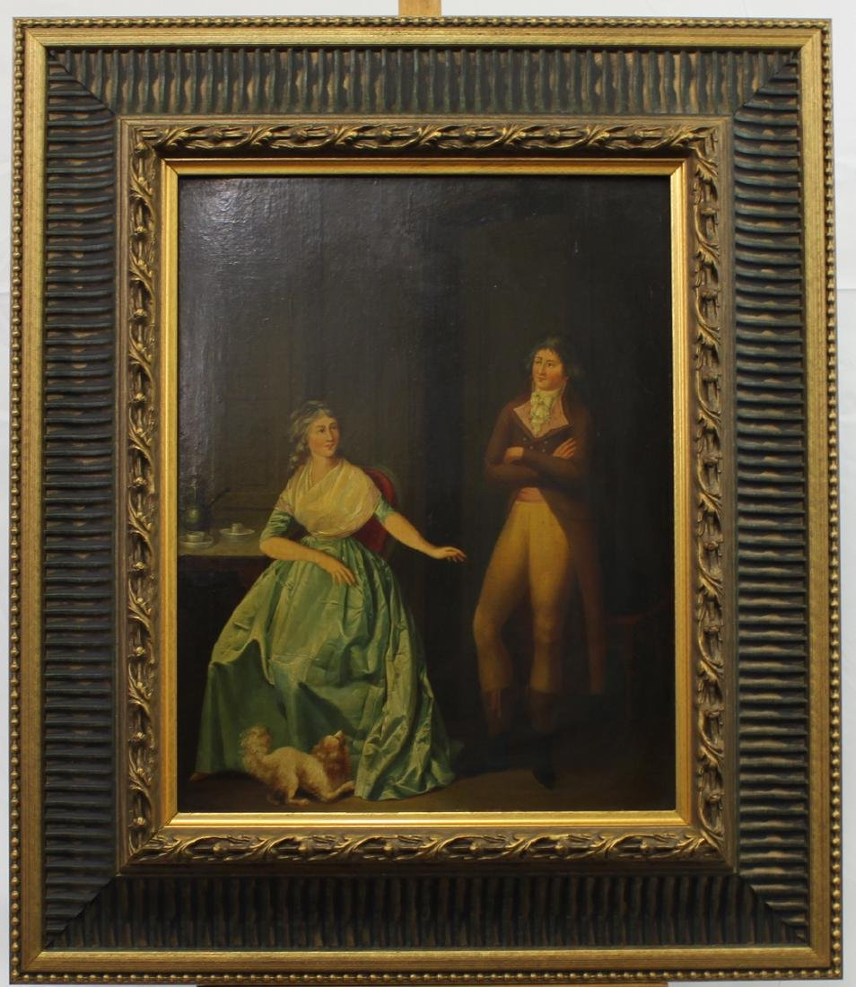 Attributed to Louis Leopold Boilly Pair of 18th Century - 4