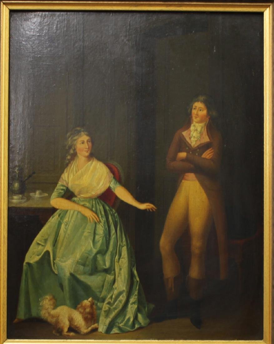 Attributed to Louis Leopold Boilly Pair of 18th Century - 5