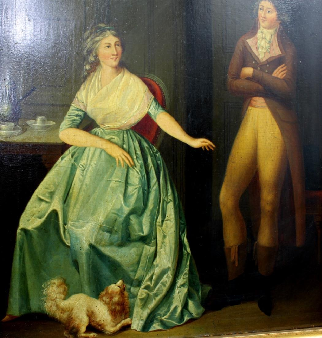Attributed to Louis Leopold Boilly Pair of 18th Century - 9