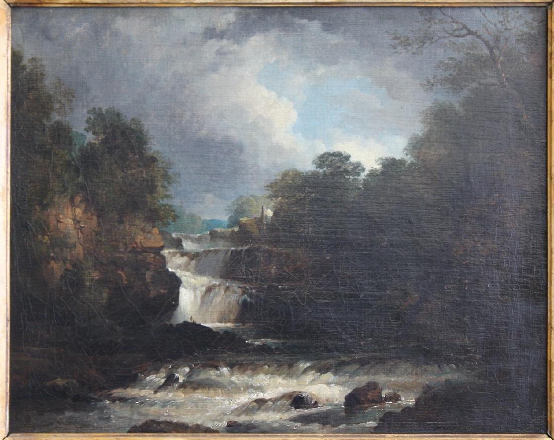 19th Century French Barbizon School Oil On Canvas - 2