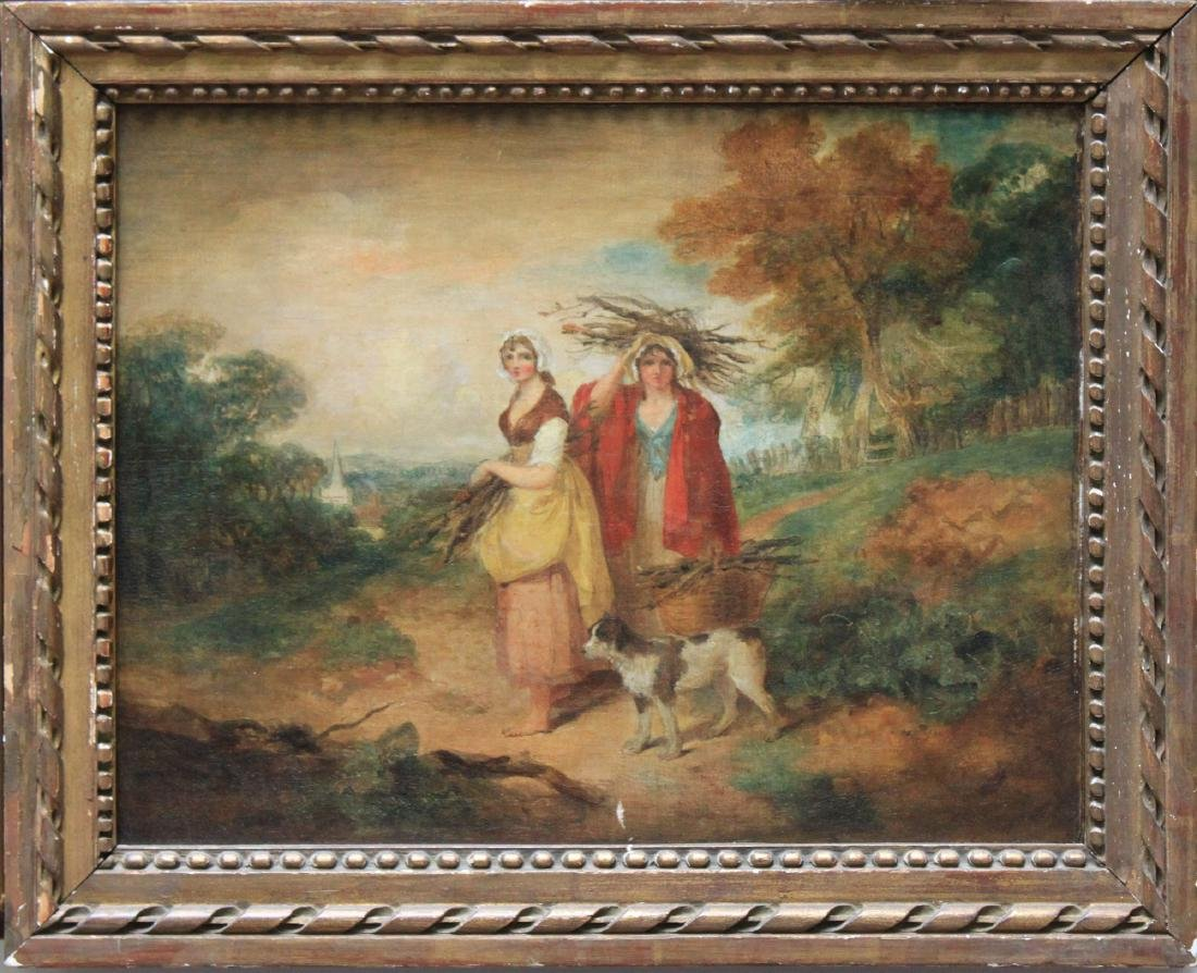 Oil on Canvas Painting Attributed to Francis Wheatley