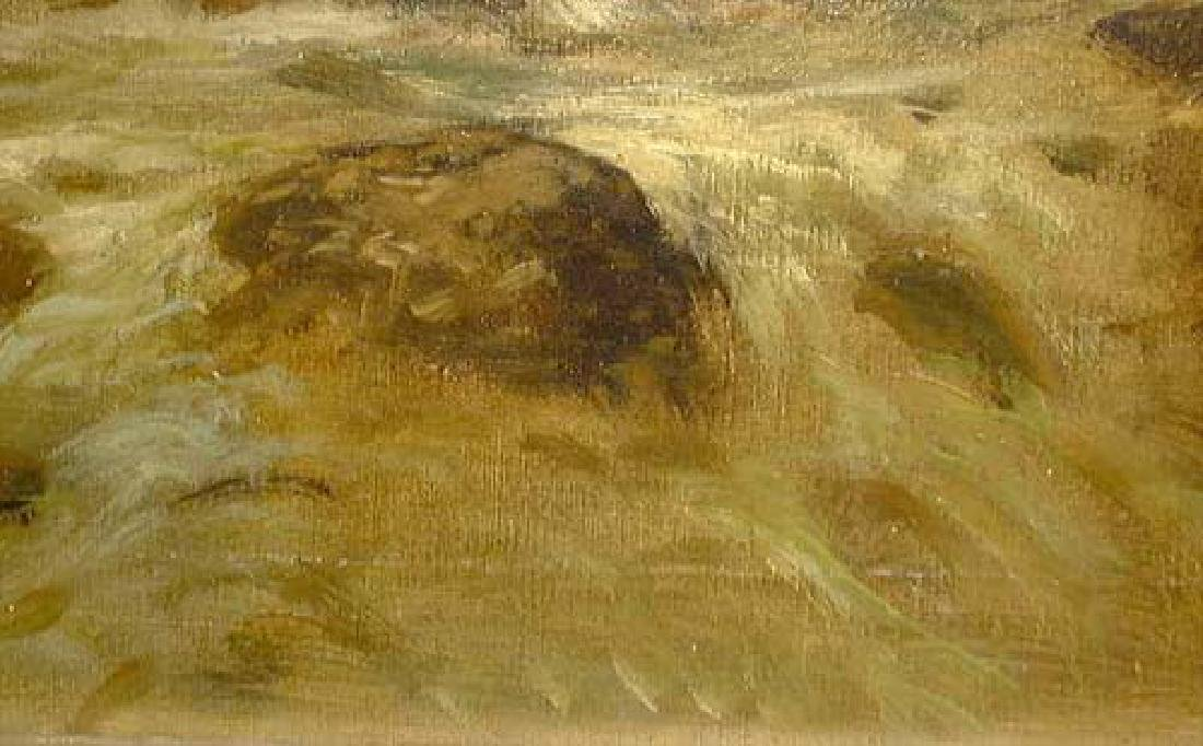 Oil On Canvas Landscape Painting By Kagon - 4
