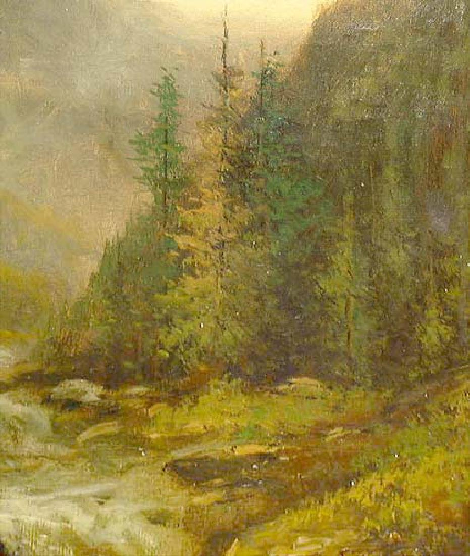 Oil On Canvas Landscape Painting By Kagon - 5