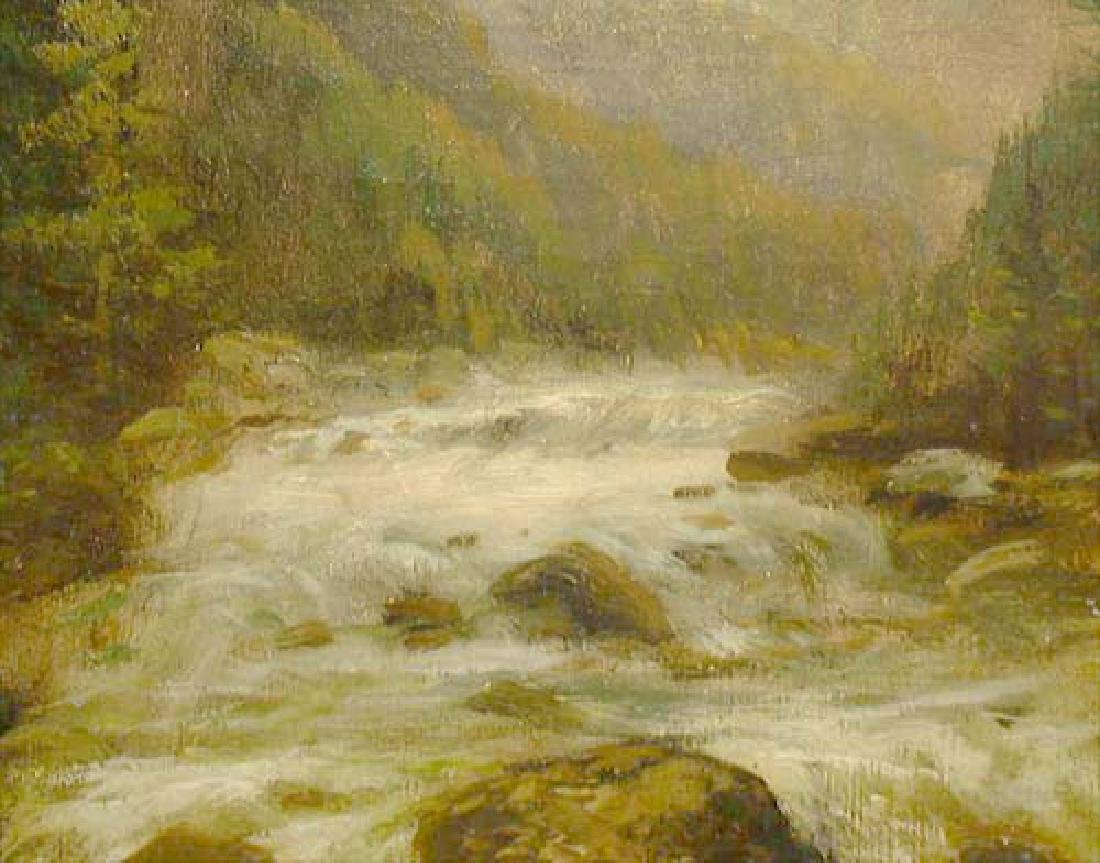 Oil On Canvas Landscape Painting By Kagon - 6