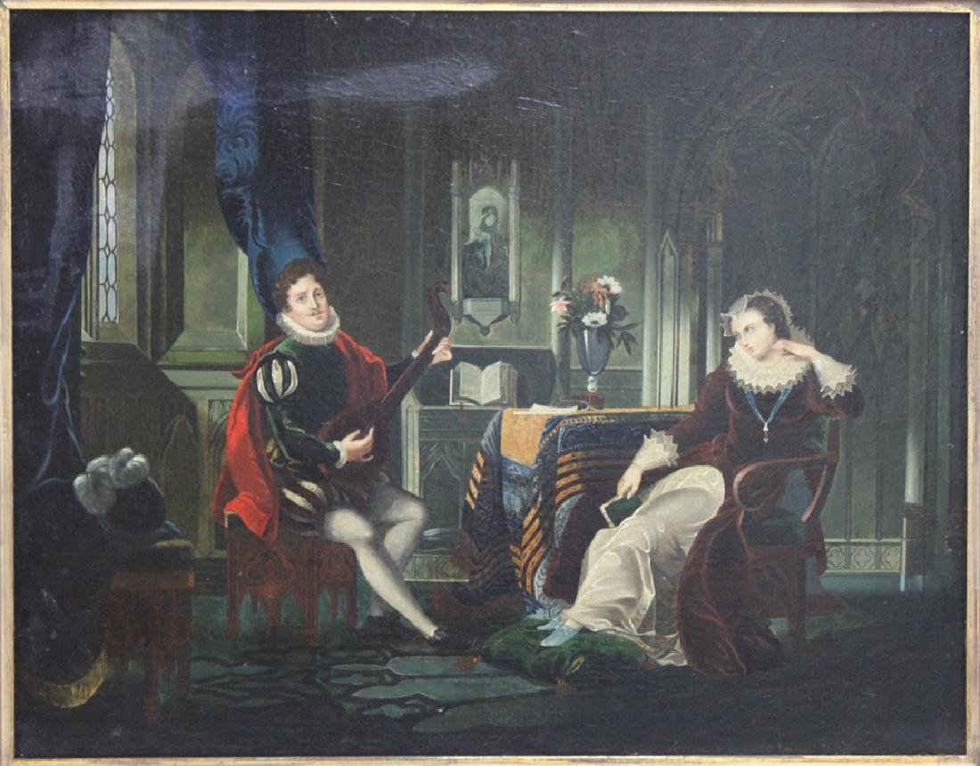 19 Century Oil on Canvas Painting Attributed to H. - 2