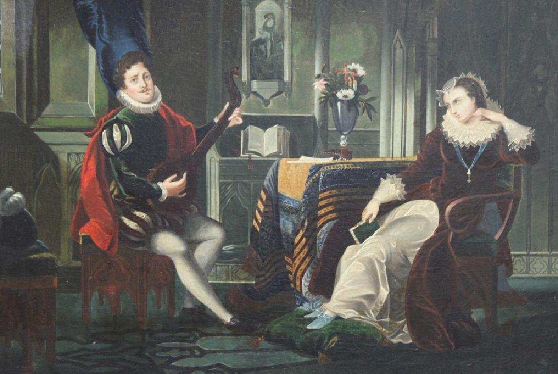 19 Century Oil on Canvas Painting Attributed to H. - 3