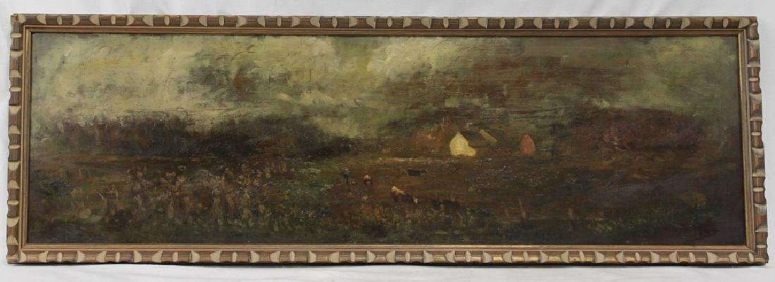American Oil on Panel Painting by Charles Henry Miller - 2
