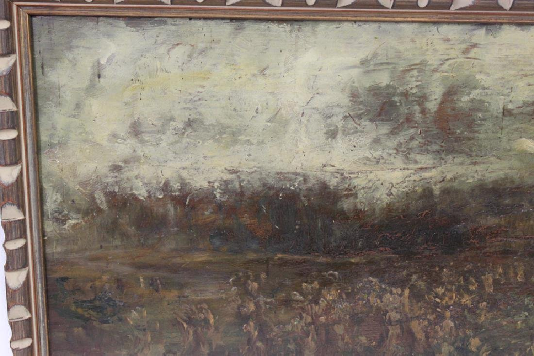 American Oil on Panel Painting by Charles Henry Miller - 3