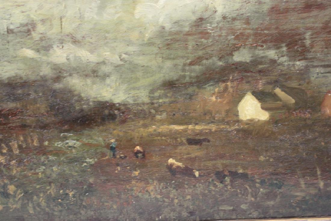 American Oil on Panel Painting by Charles Henry Miller - 4