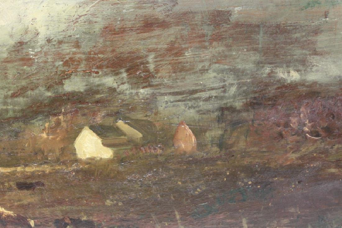 American Oil on Panel Painting by Charles Henry Miller - 5