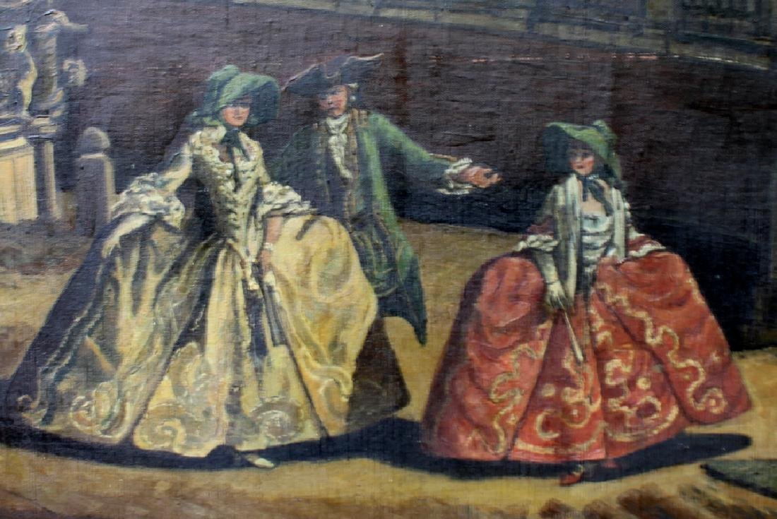 Early 20th Century Oil on Canvas Painting by Hermim - 5