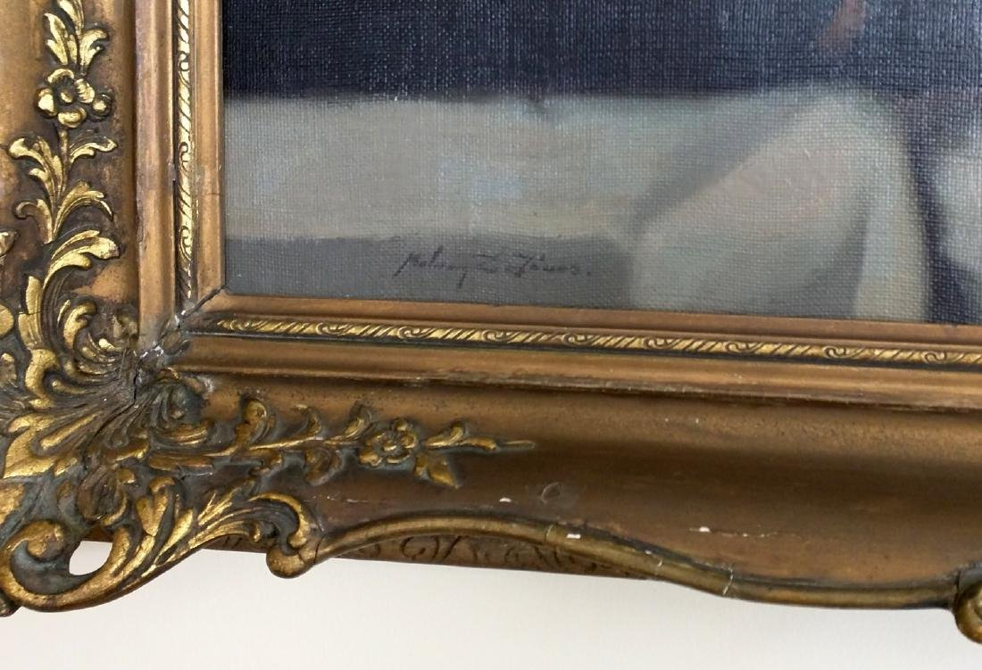 19th Century Oil on Canvas Still Life Painting by Janos - 3