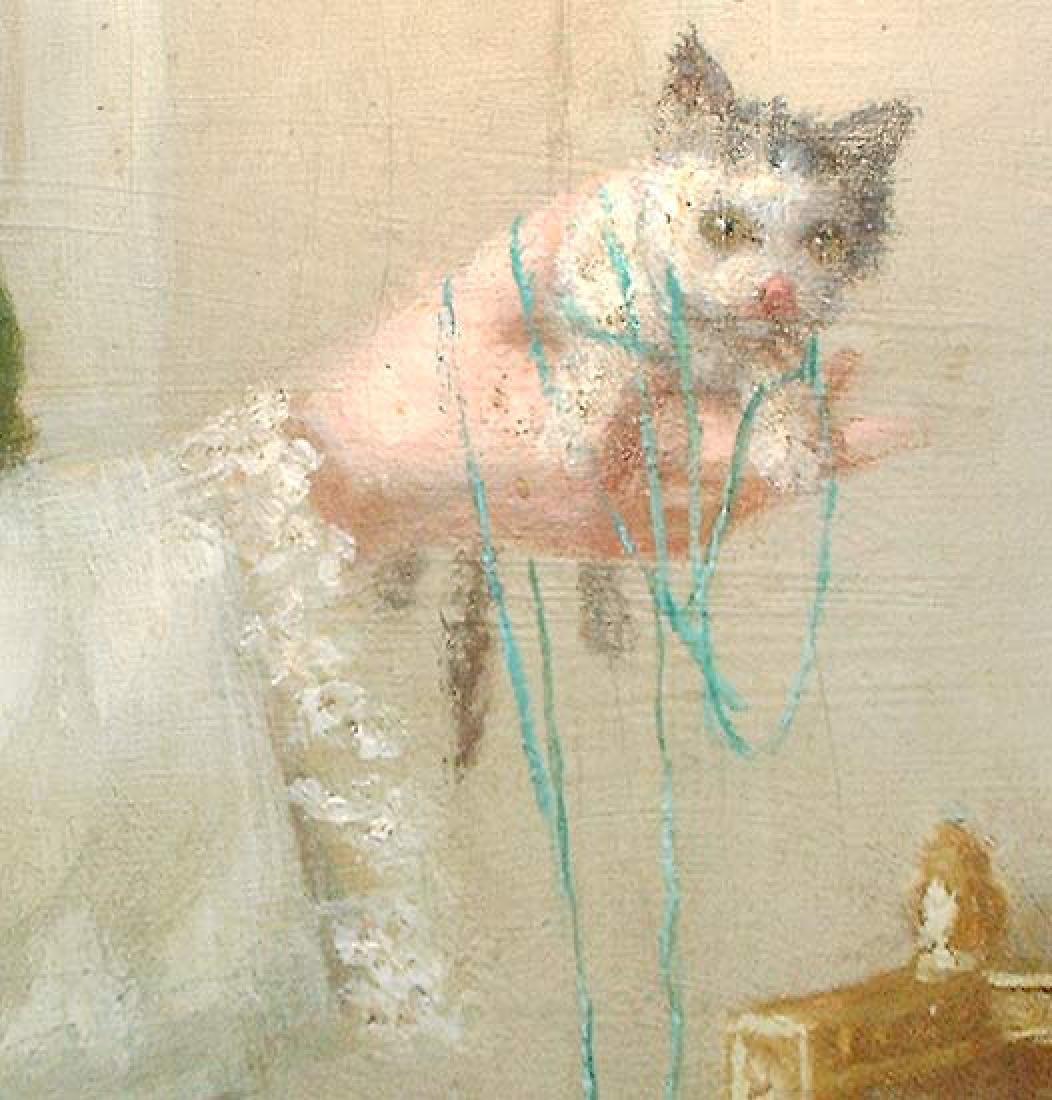Oil On Canvas American Painting by Evans De Scott. - 3