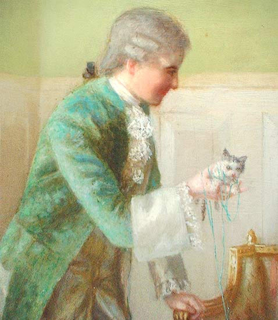 Oil On Canvas American Painting by Evans De Scott. - 6