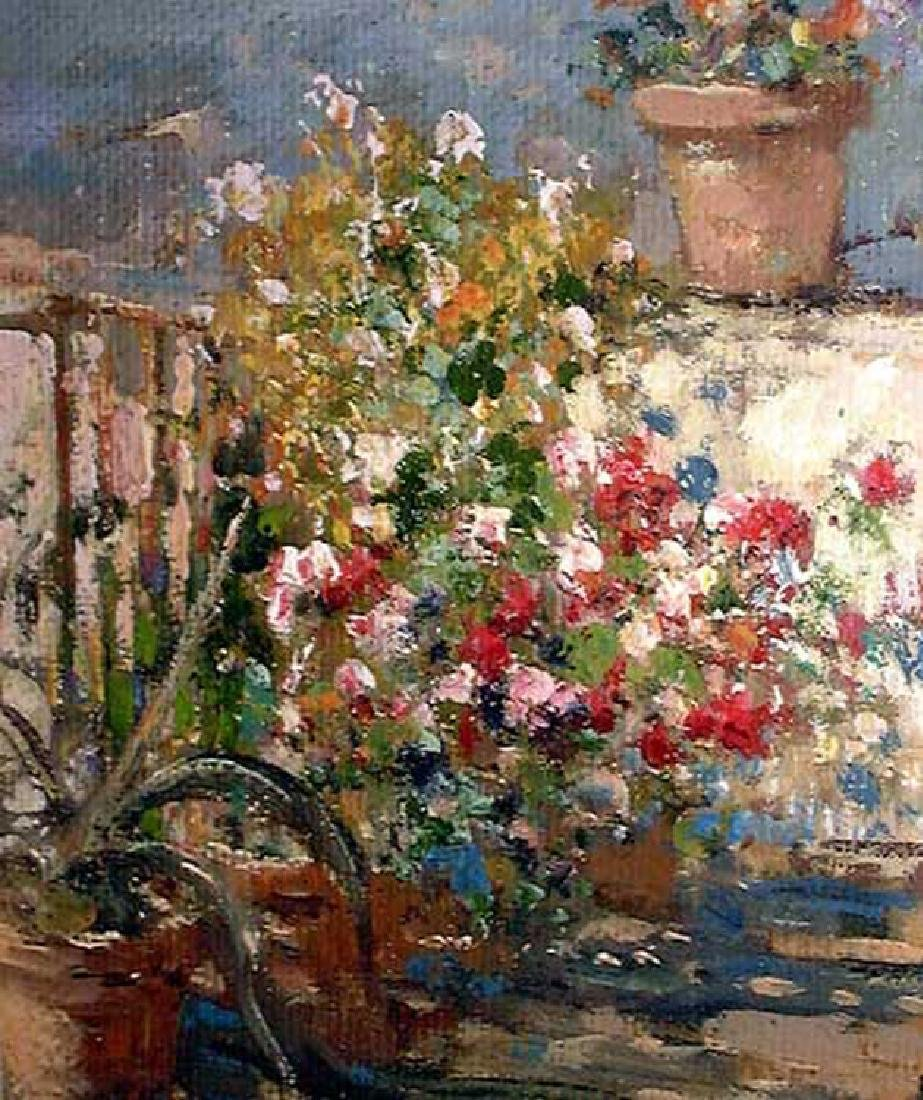 Italian Oil On Canvas Painting By Vincenzo Irolli - 5