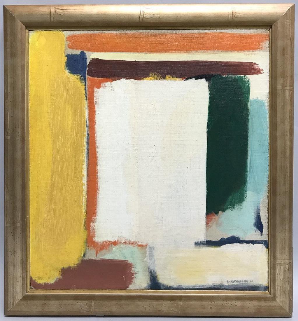 Giorgio Cavallon (American, 1904-1989) Oil On Canvas