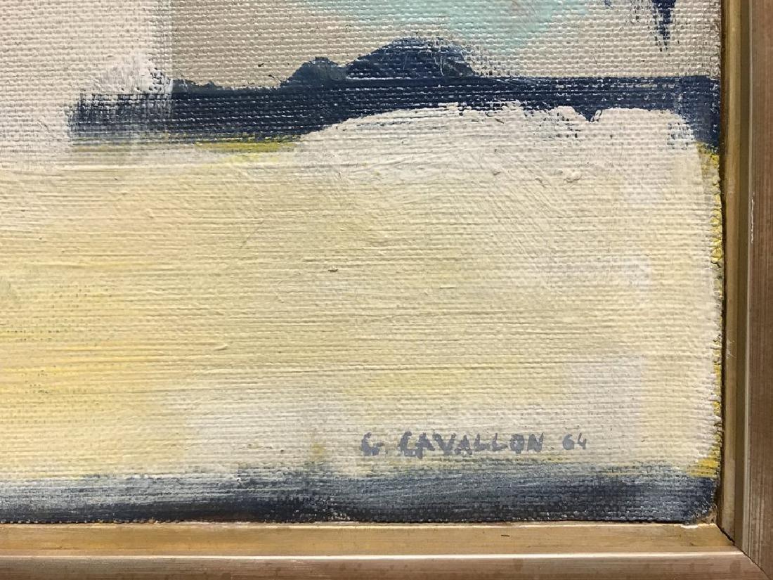 Giorgio Cavallon (American, 1904-1989) Oil On Canvas - 2