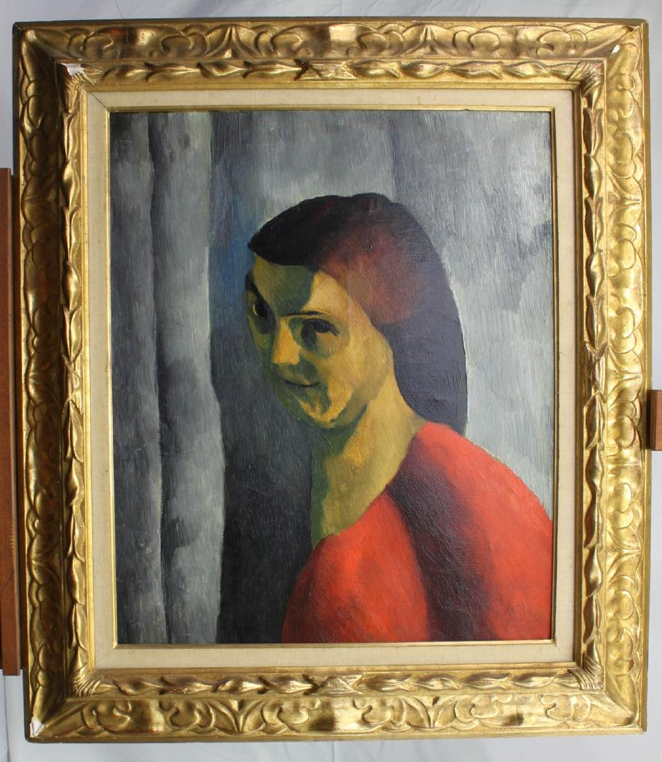 Oil On Canvas Painting by Moise Kisling (1891-1953)