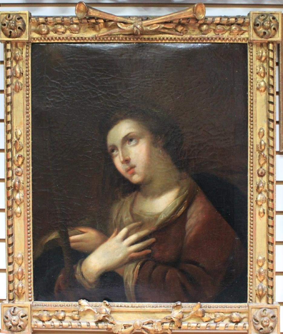 16th Century Italian oil on canvas Painting of The