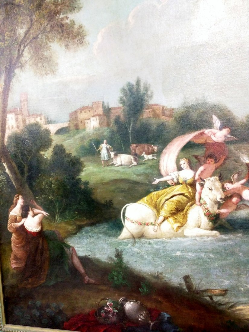 Oil On Canvas Painting Attributed To Francesco - 2