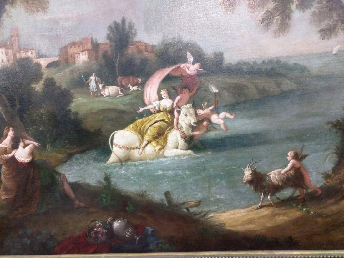 Oil On Canvas Painting Attributed To Francesco - 4