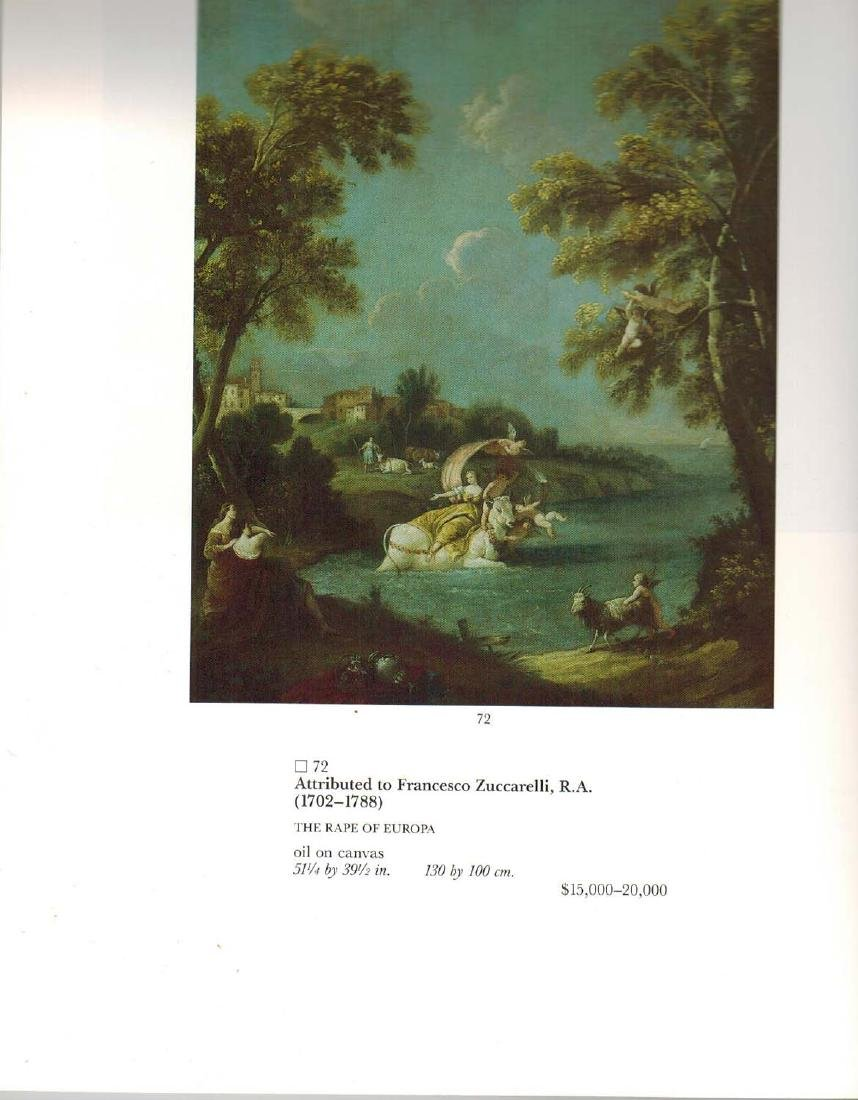 Oil On Canvas Painting Attributed To Francesco - 8