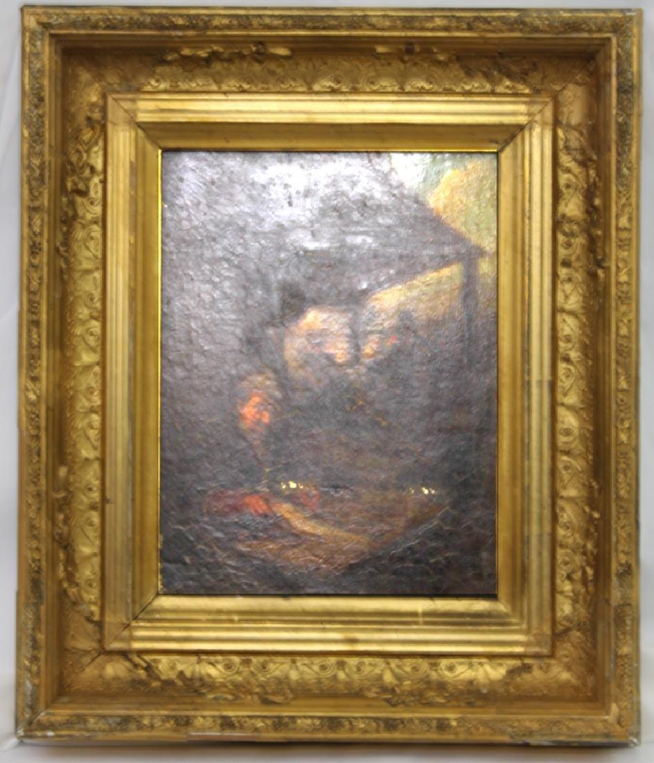 Oil on Panel Painting Circle of Adriaen van Ostade.