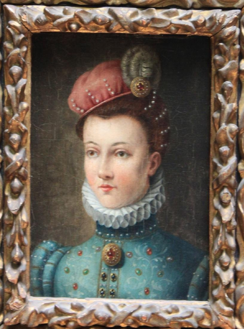 16 Century Oil on Panel Painting Attributed to Francois - 2