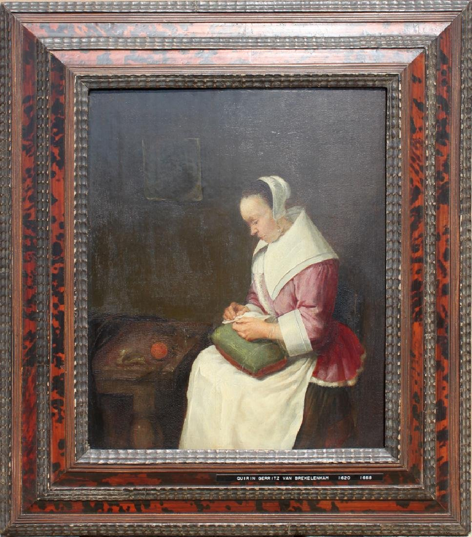 Dutch 17 Century Painting Attributed  to Quiringh