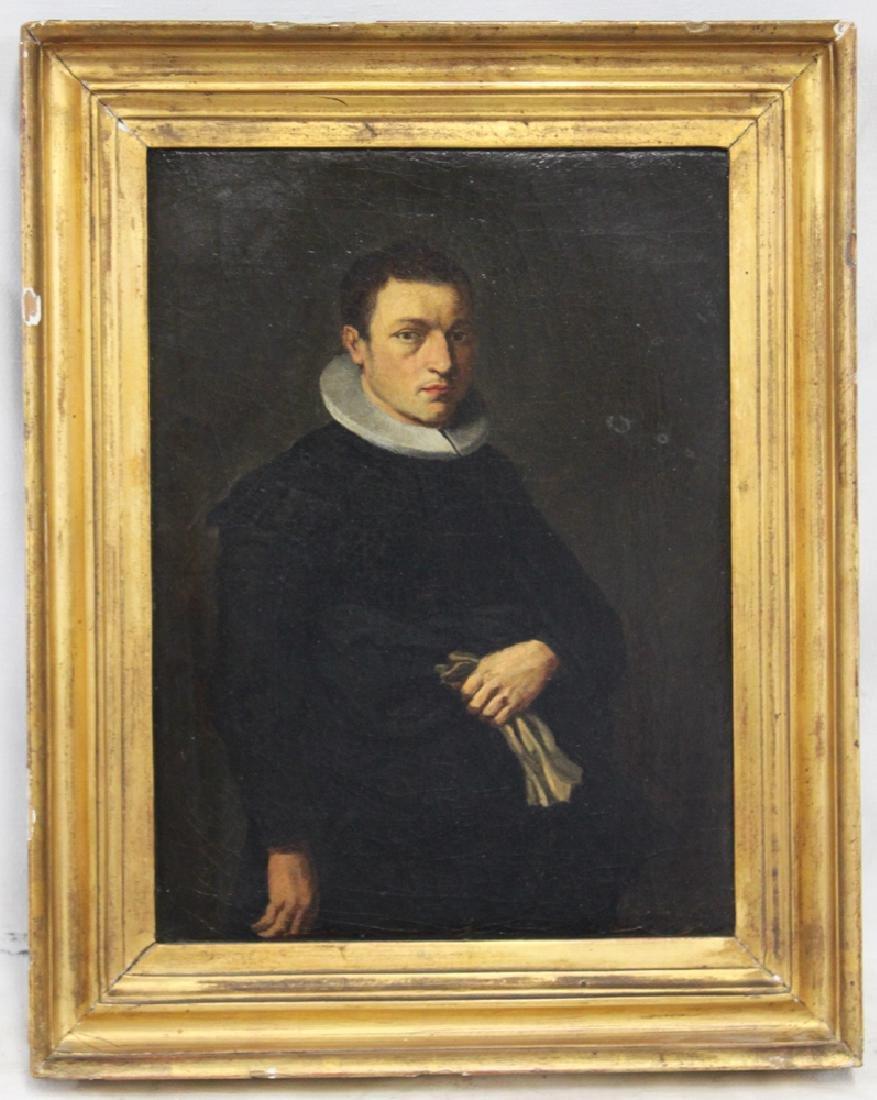 Roman Zurbaran's School 17th Century oil on canvas