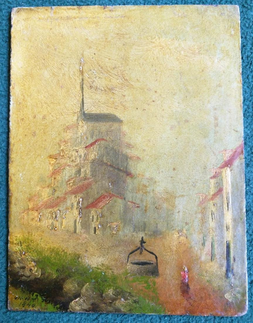 Early 19 Century Oil English Painting