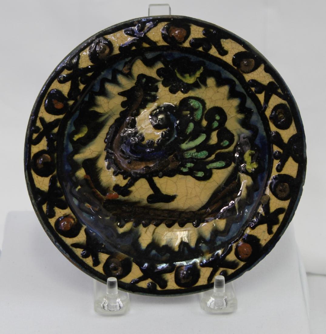 14 Century Italian Majolica (Maiolica) Plate