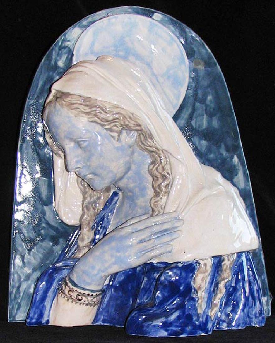 After Studio of Giovanni Della Robbia The Virgin