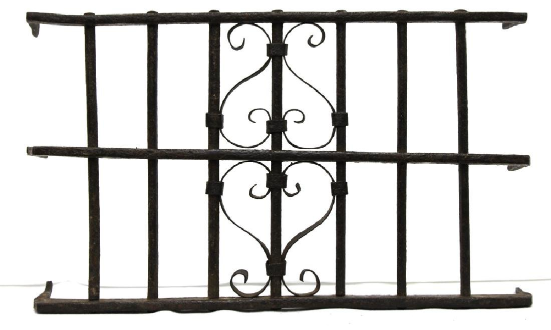 Gothic Spanish Wrought Iron Grill