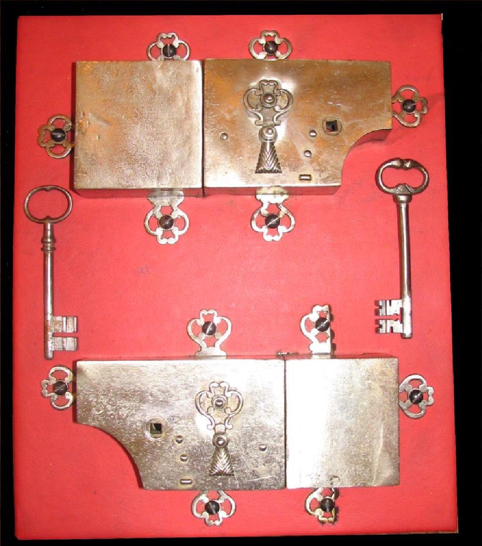 Group of French 18 Century iron Locks