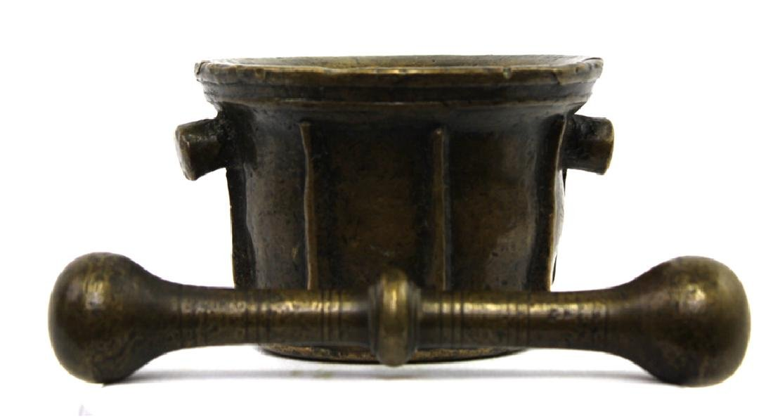 16 / 17 Century Bronze Mortar and Pestle