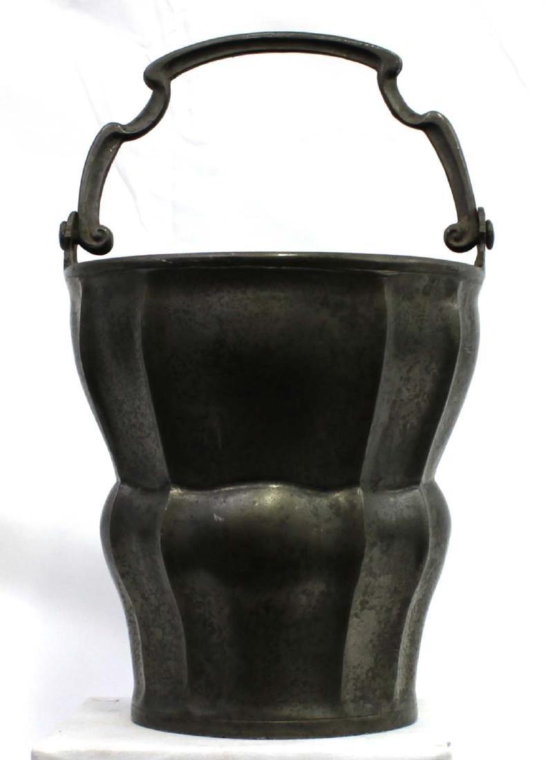 16-17 Century European Pewter  Water Bucket