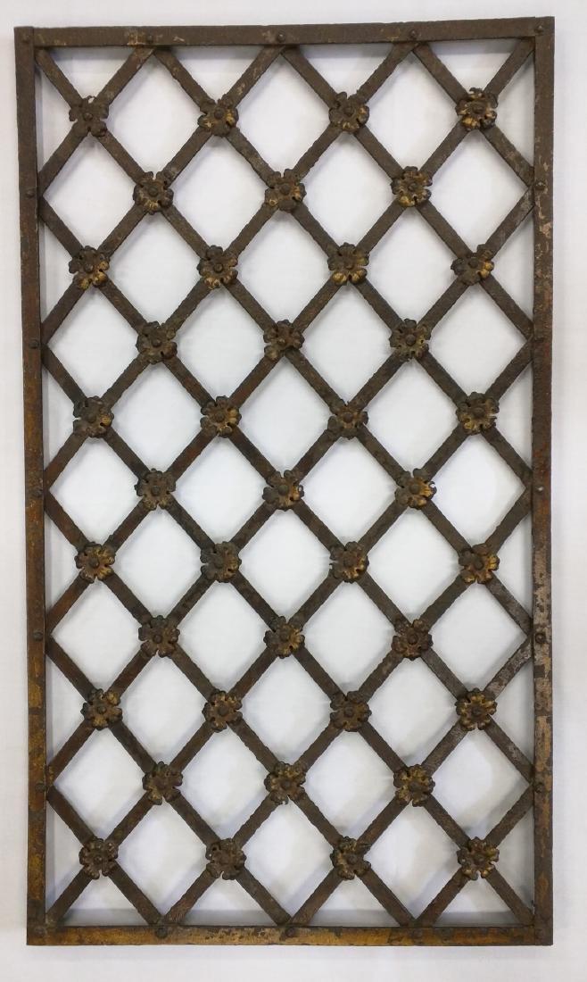 Italian Renaissance Iron Grate