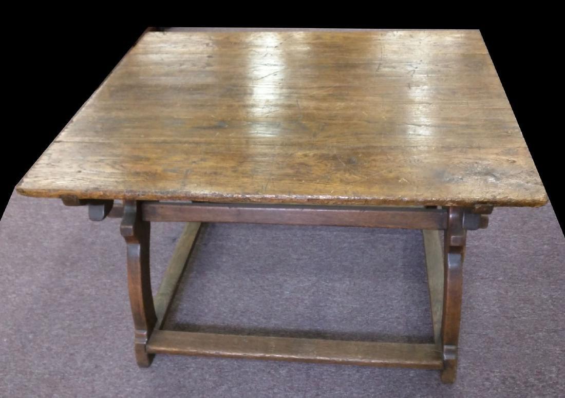 16 Century German Oak Table