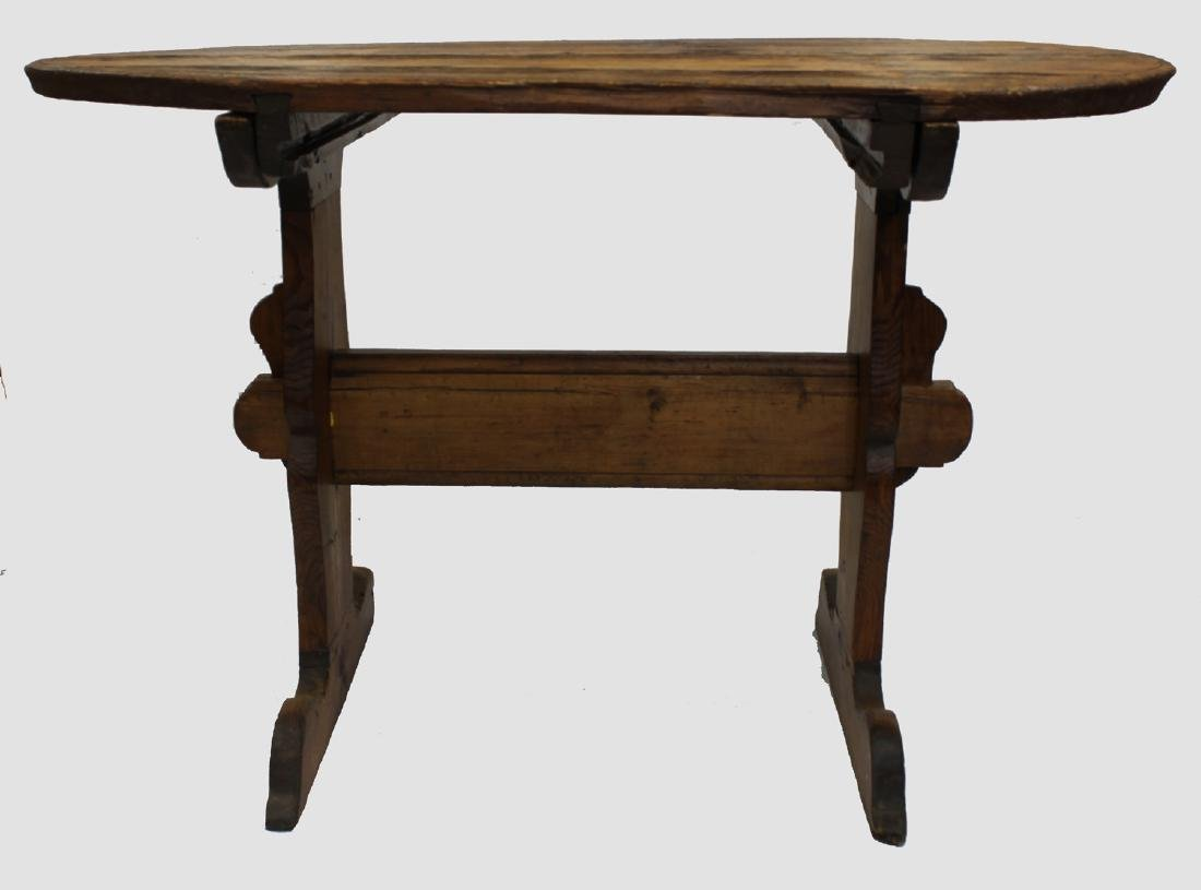 Continental 17 Century Maple Table