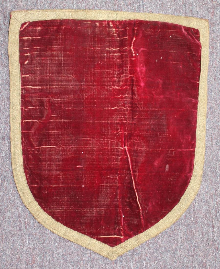 Italian 16-17 Century Red Velvet With Metal Thread