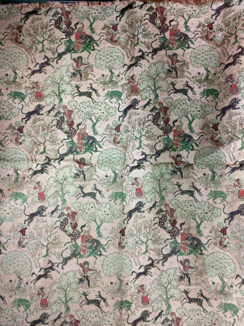 Framed Horse Riders Fabric (Textile)