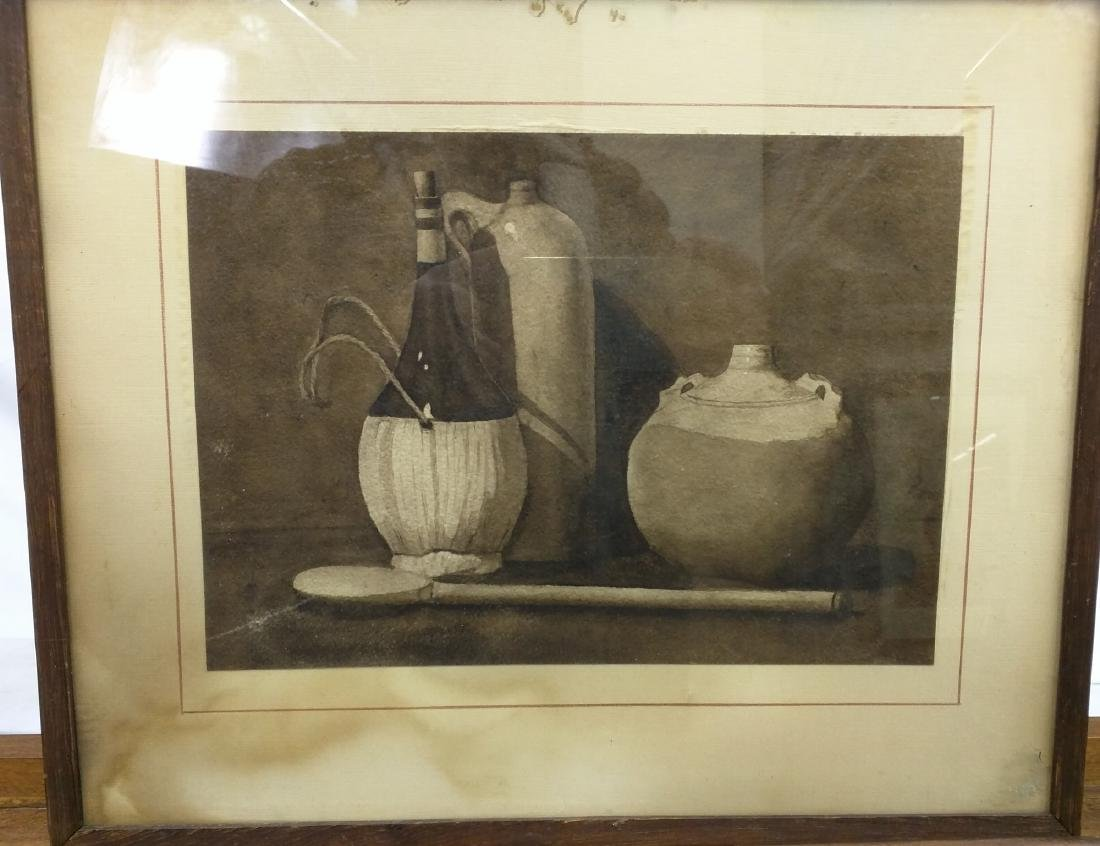 EUROPEAN SCHOOL: STILL LIFE WITH JUGS