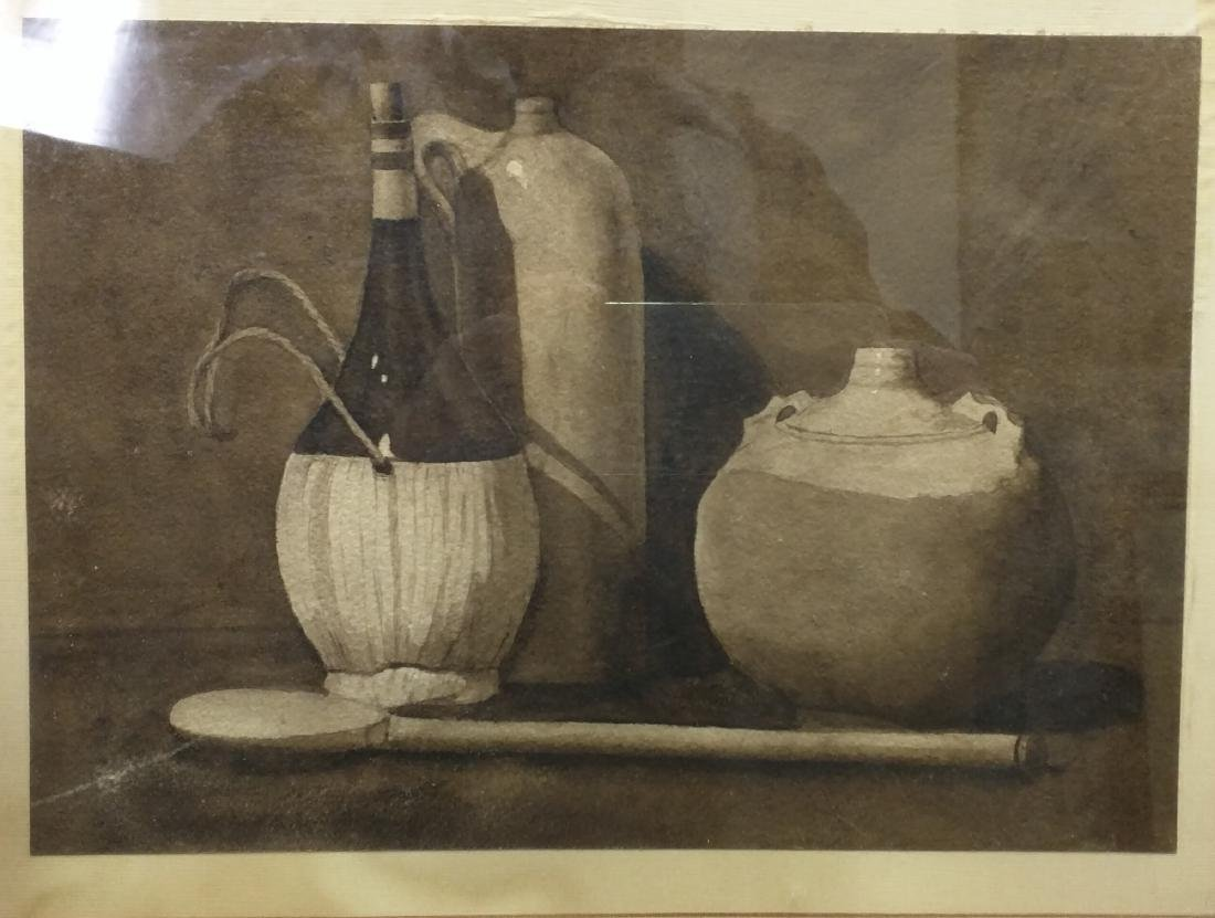 EUROPEAN SCHOOL: STILL LIFE WITH JUGS - 2