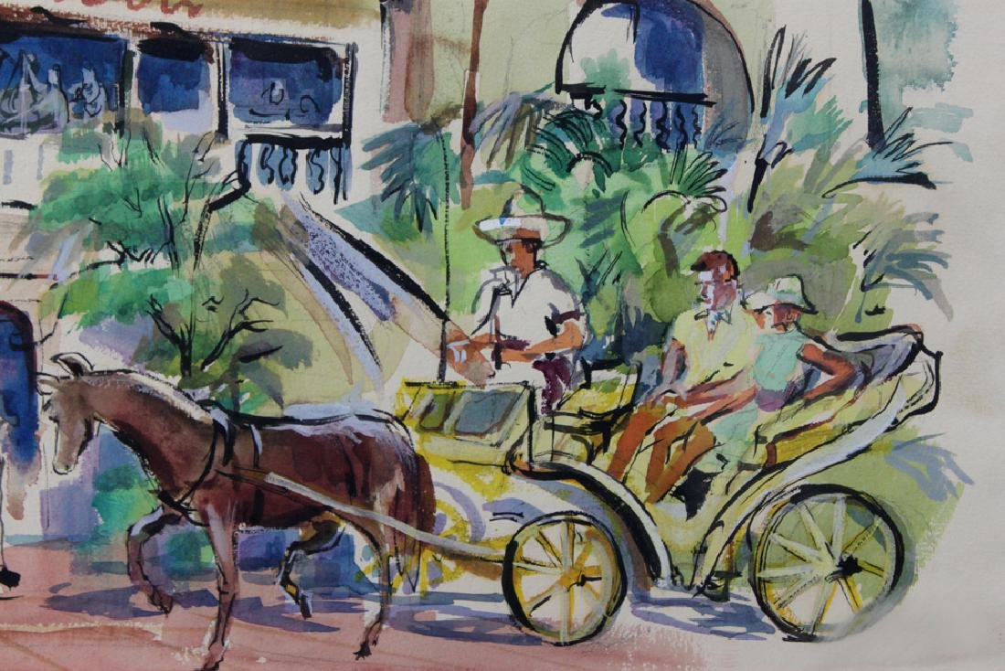 American Watercolor Painting by Cecile Johnson - 3